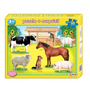 Image Puzzle Animale domestice 30ps.