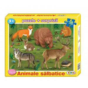 Image Puzzle Animale sălbatice 30ps.
