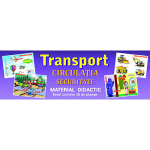 Image Planșe Transport 30 buc (material didactic)