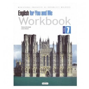 Image English for you and me. Workbook form 7